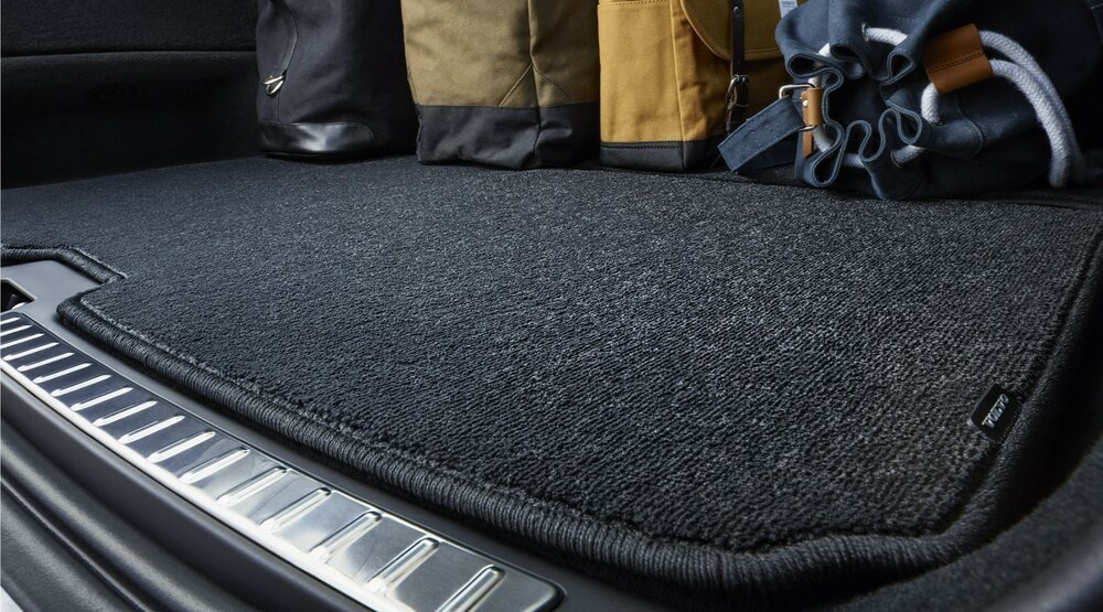 Текстильные коврики в багажник Хендай Крета