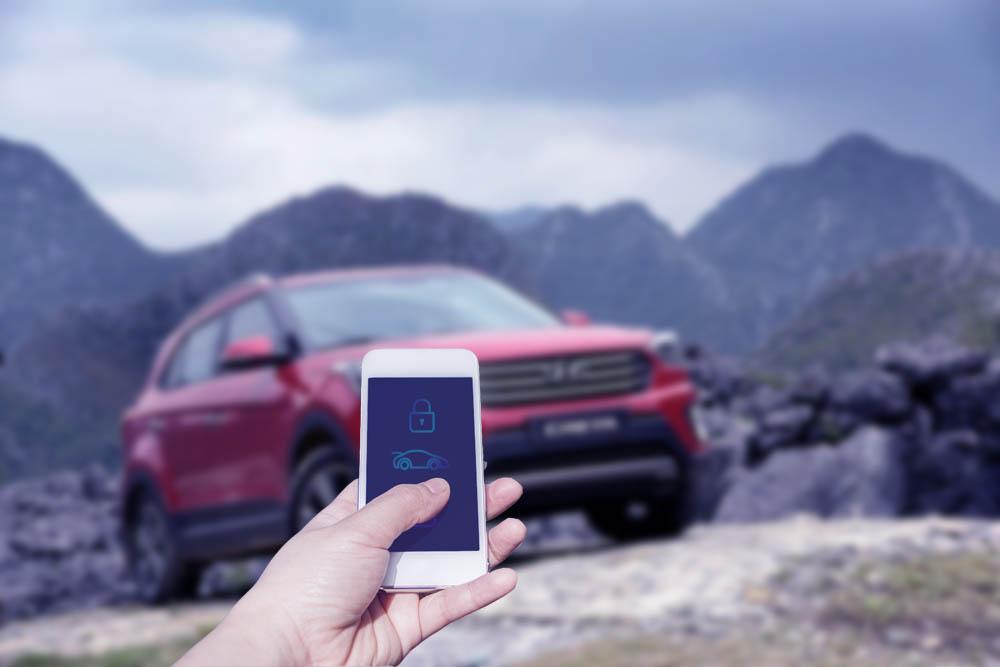 Hyundai разрабатывает цифровой ключ на базе смартфона