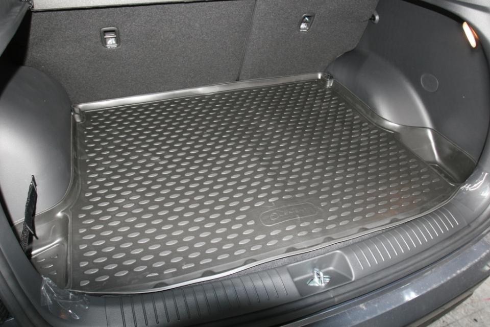 Резиновый коврик в багажник Хендай Крета
