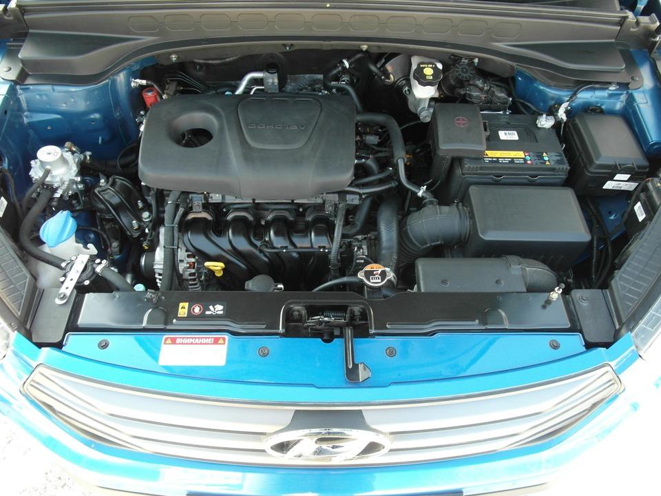 Марка двигателя Хендай Крета 1.6