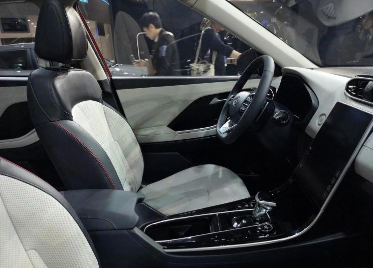 Салон новой 2019 Hyundai ix25