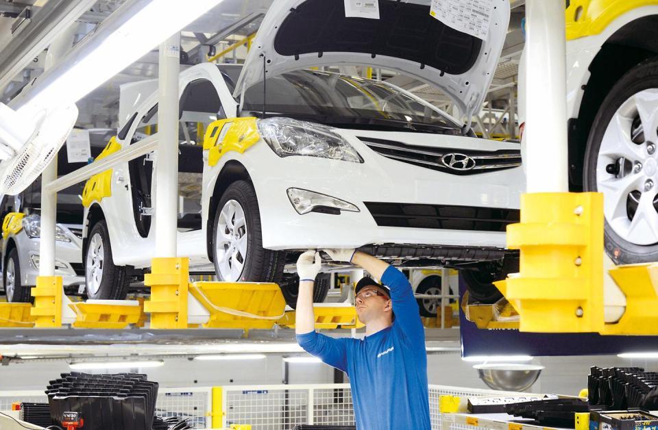 Завод Hyundai в России - рост производства в 2019 году