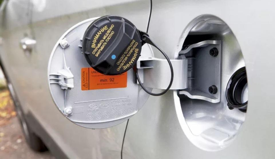 Реальный объем топливного бака Хендай Крета 1.6 и 2.0 2018-2019