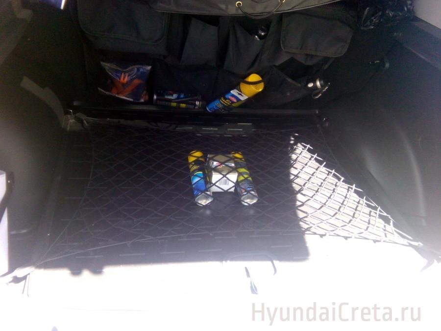 Сетка багажника Хендай Крета