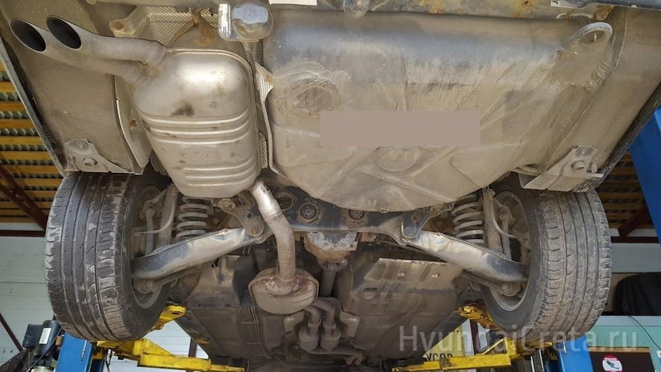 Тюнинг выхлопной системы Mercedes-Benz
