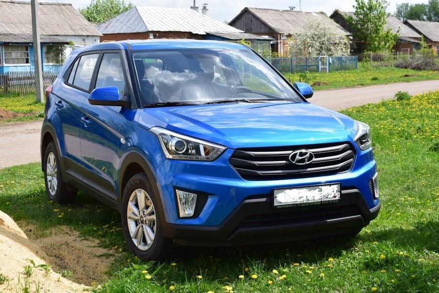 Основные технические характеристики кроссовера Hyundai Creta